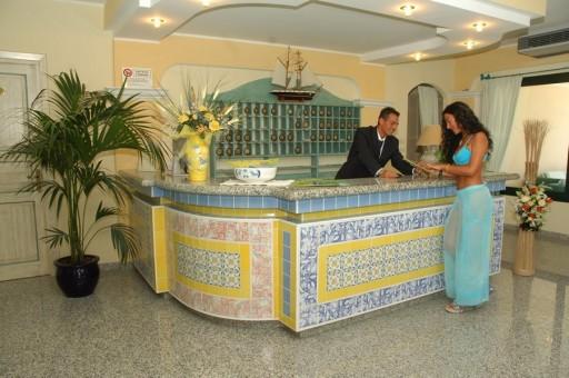 Reception Aprthotel Cala Liberotto