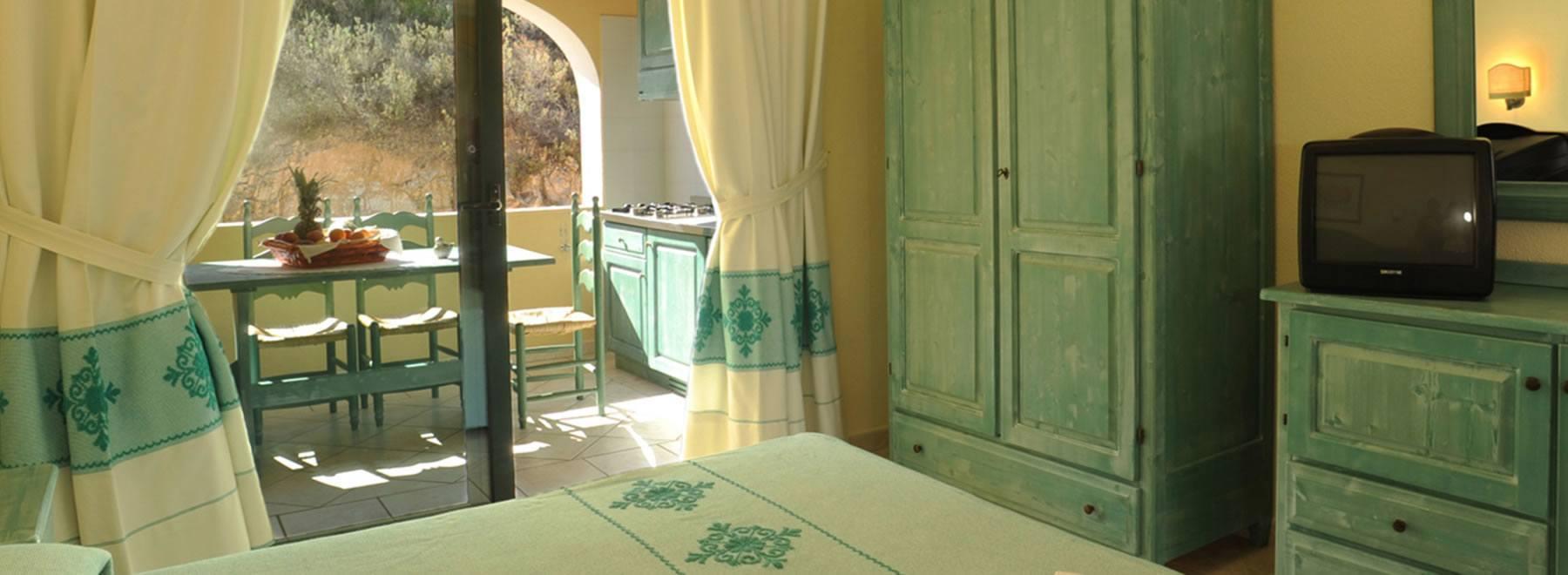 Bilocale 5 Persone Il Borgo Il Borgo  Sardegna